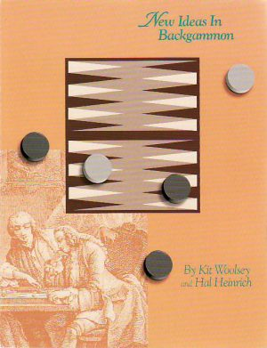 New Ideas in Backgammon
