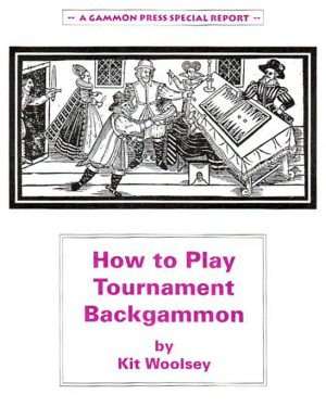 How to Play Tournament Backgammon